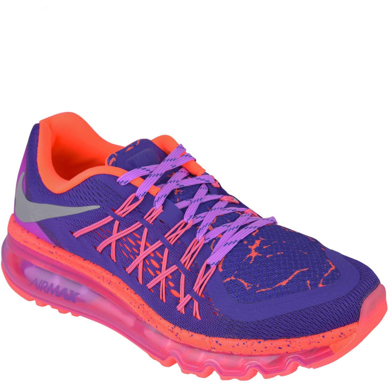 Zapatilla de Jovencita Nike Morado Coral air max 2015 lava