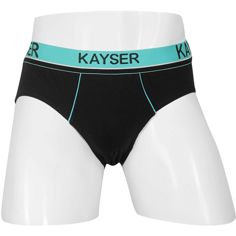 Kayser 91.11-neg Negro Calzoncillos