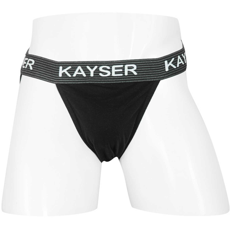 Ropa Interior Y Pijamas de Hombre Kayser Negro 92.01-neg