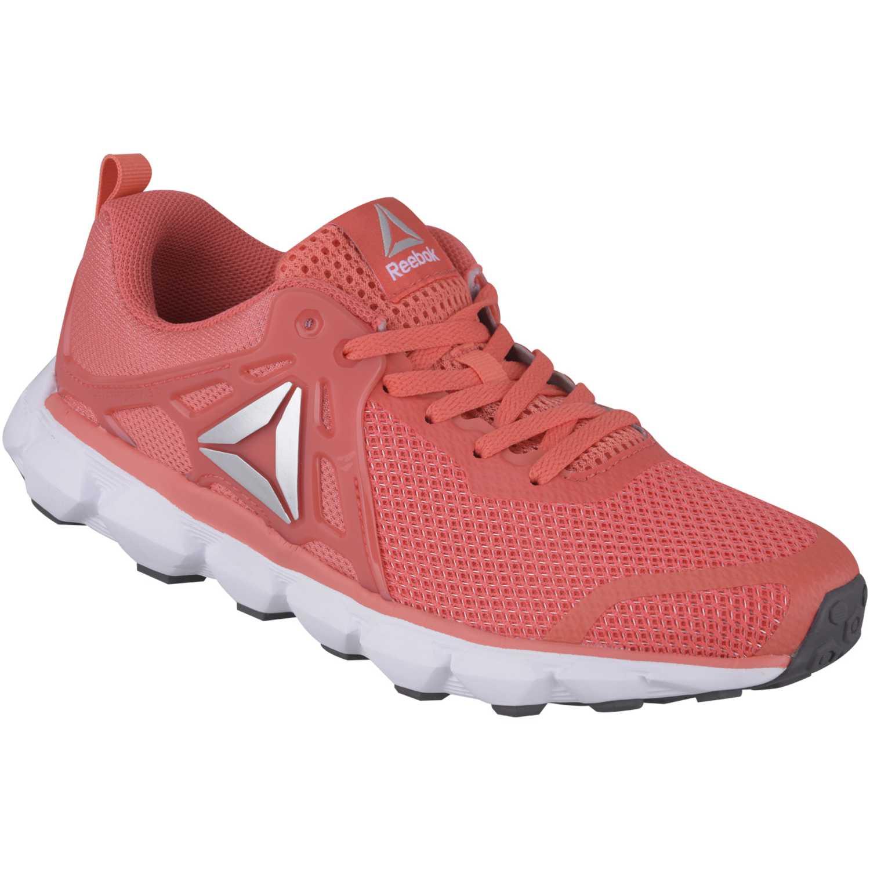 Deportivo de Mujer Reebok Coral / blanco hexaffect run 5.0