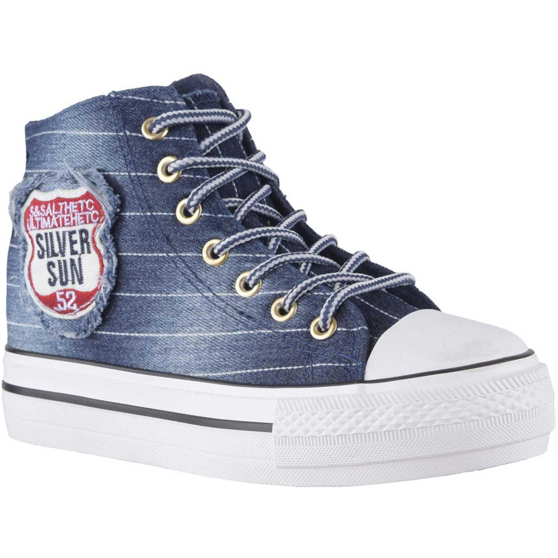 Just4u zb-5954 Azul Zapatillas Fashion