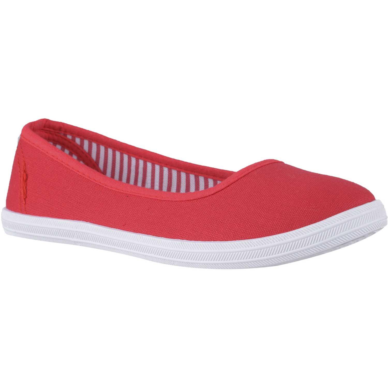 Zapatillas de Mujer Just4u Rojo zc-116