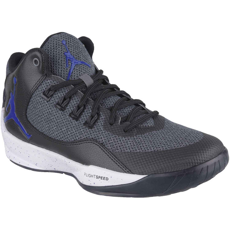 half off 97d99 e31b3 Cuña de Mujer Nike Gris / negro jordan rising high 2 ...