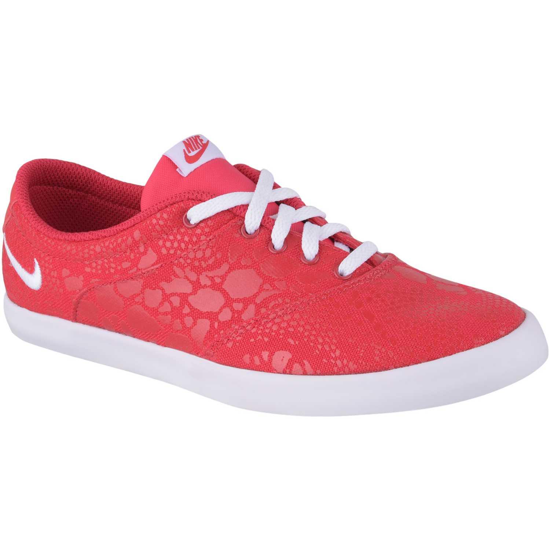 Nike wmns mini sneaker lace print Fucsia / blanco Walking
