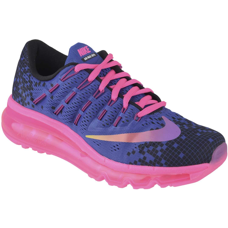 Zapatilla de Jovencita Nike Morado Rosado air max 2016