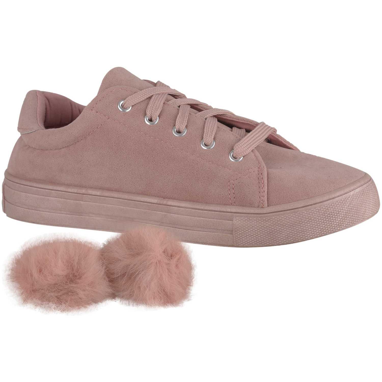 Zapatillas de Mujer Just4u Rosado zc-1172