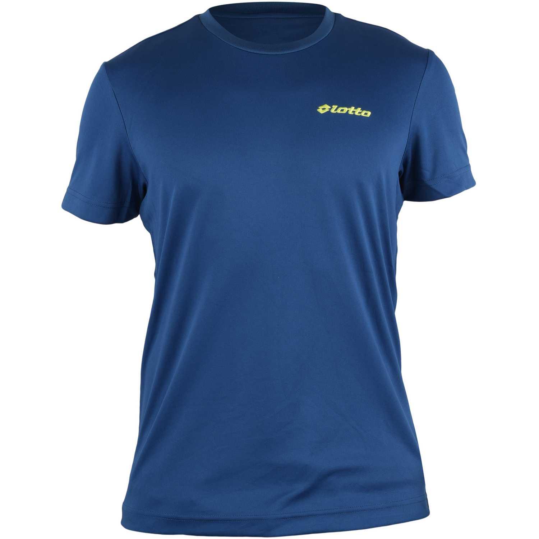 Deportivo de Hombre Lotto Azul t-shirt jonah
