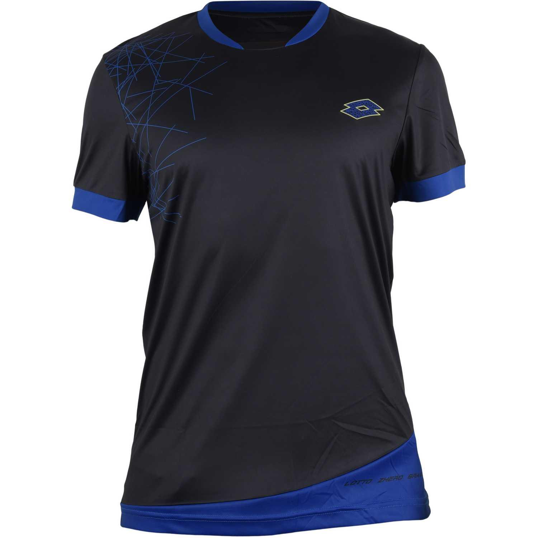Camisetas de Hombre Lotto Negro t-shirt gravit