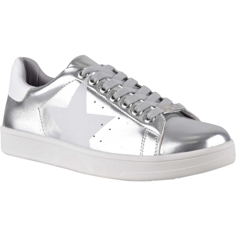 Dios Masculinidad preparar  Steve Madden rayner Plateado / blanco Zapatillas Fashion ...