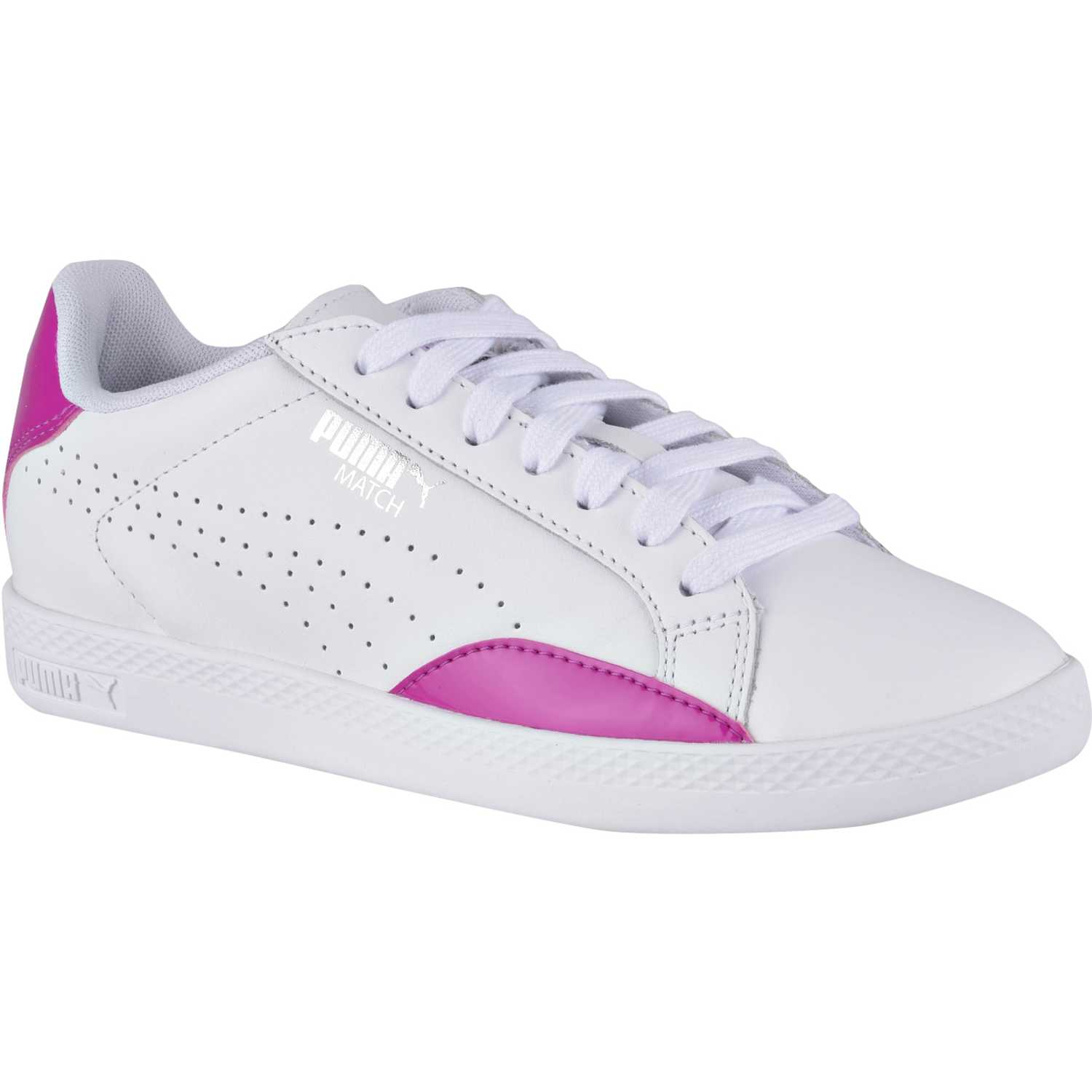 Puma match basic wns Blanco / fucsia Walking