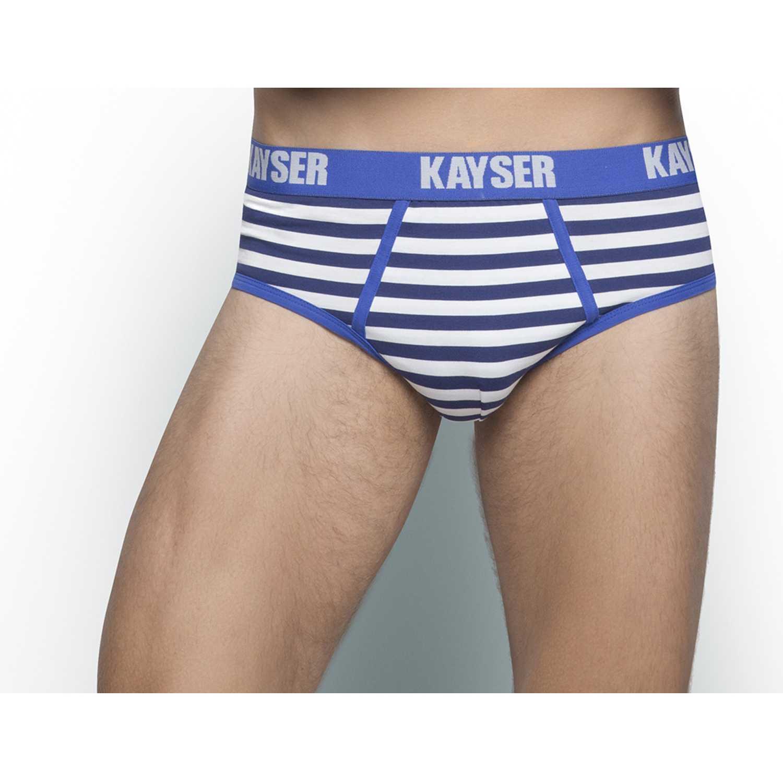 Kayser 91.407-azu Azul Calzoncillos