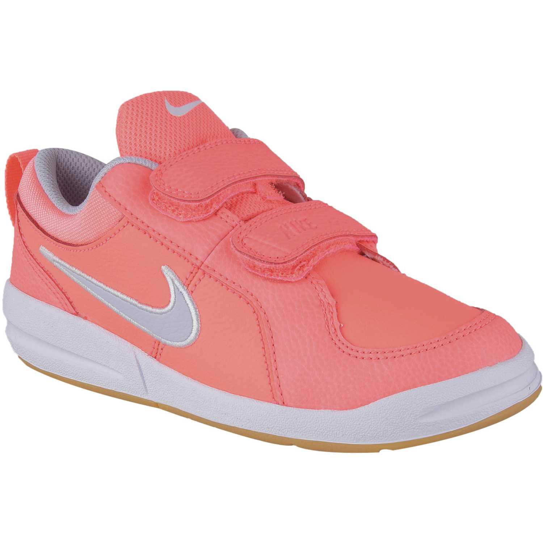 Deportivo de Niña Nike Blanco rosado pico 4 gpv