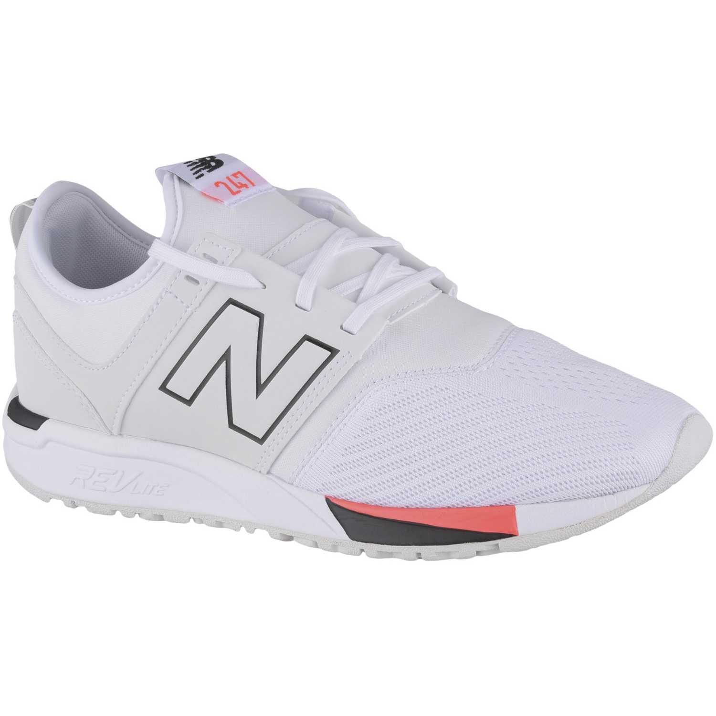 new balance blancas hombres zapatillas