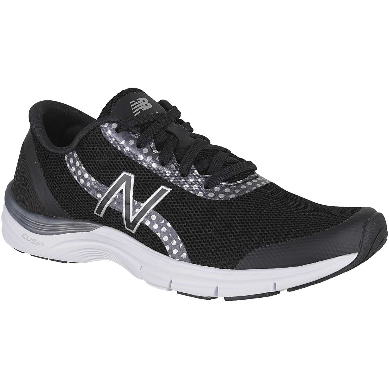 Mujer New Balance 711 Ligera Cross Training Zapatillas Negro