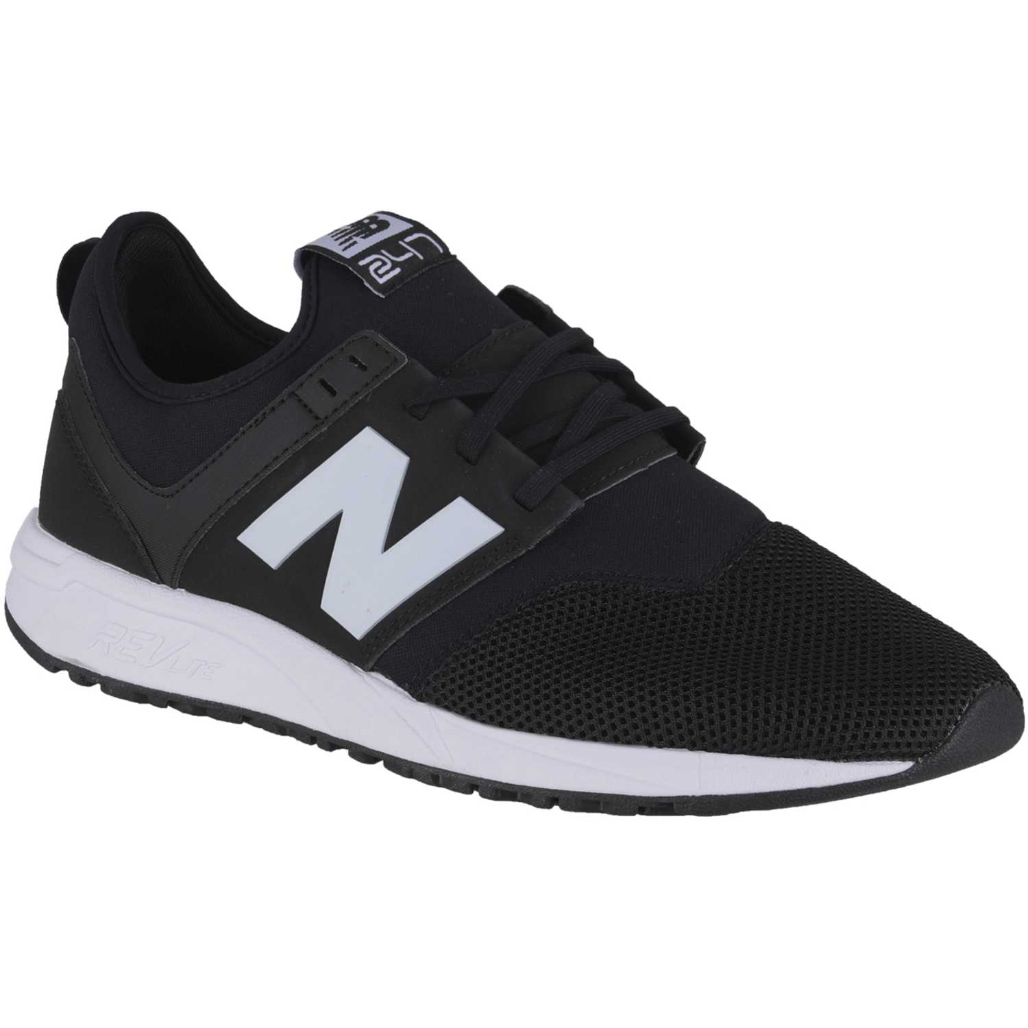 New Balance 247 Negro / blanco Walking | platanitos.com