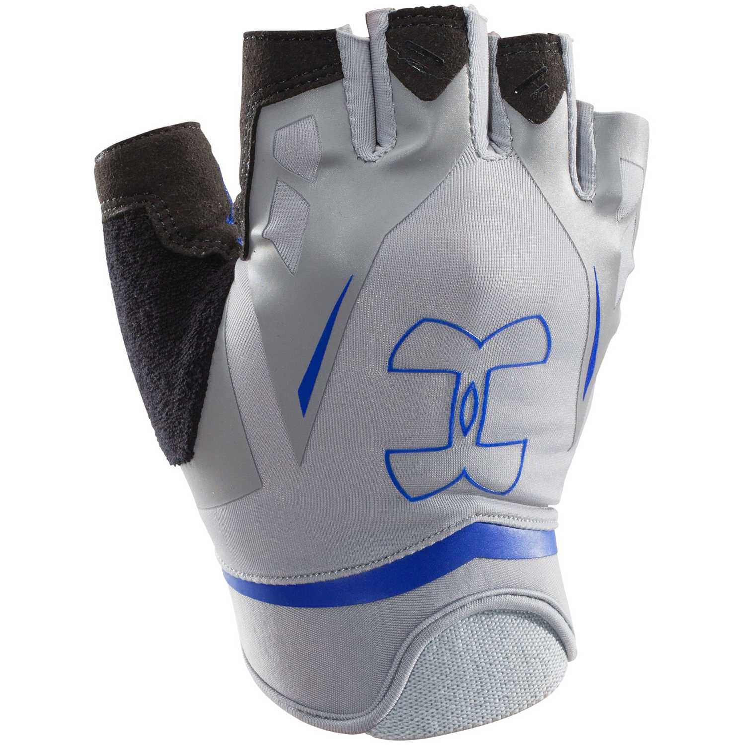 Under Armour ua flux mens Gris / azul Guantes