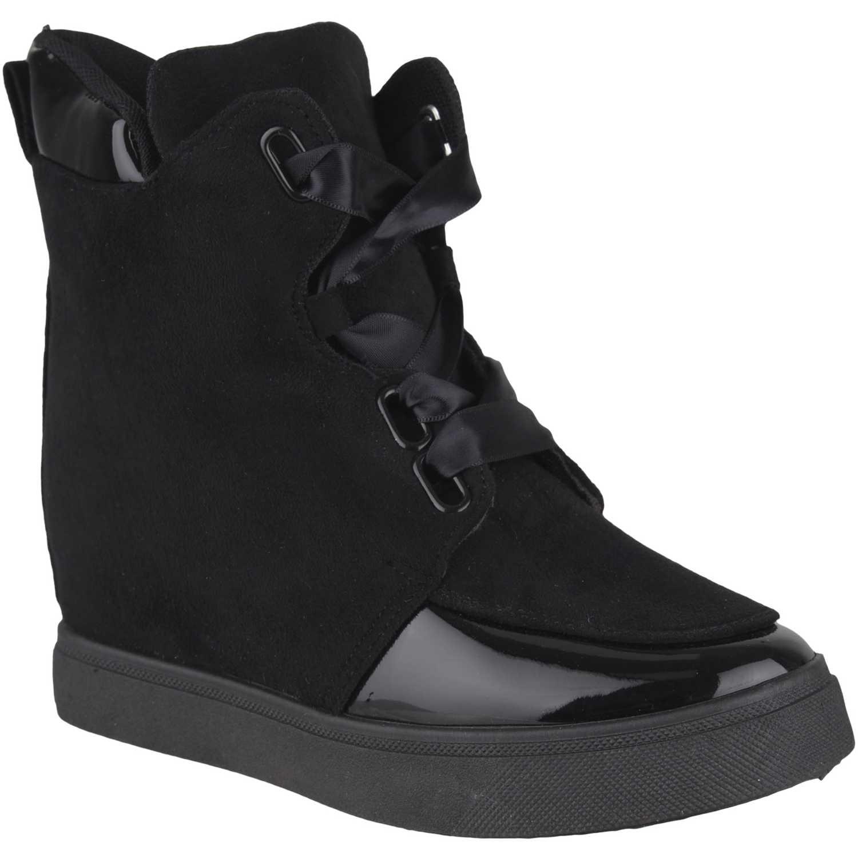 Platanitos Zb-7287 Negro Zapatillas de moda