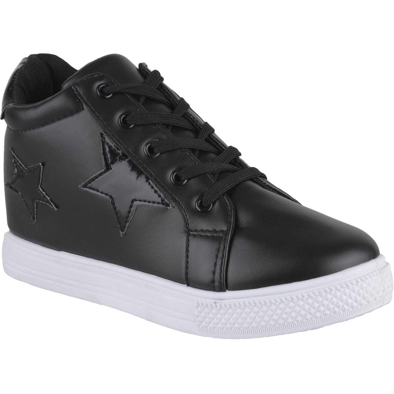Zapatillas de Mujer Just4u Negro zc-70694