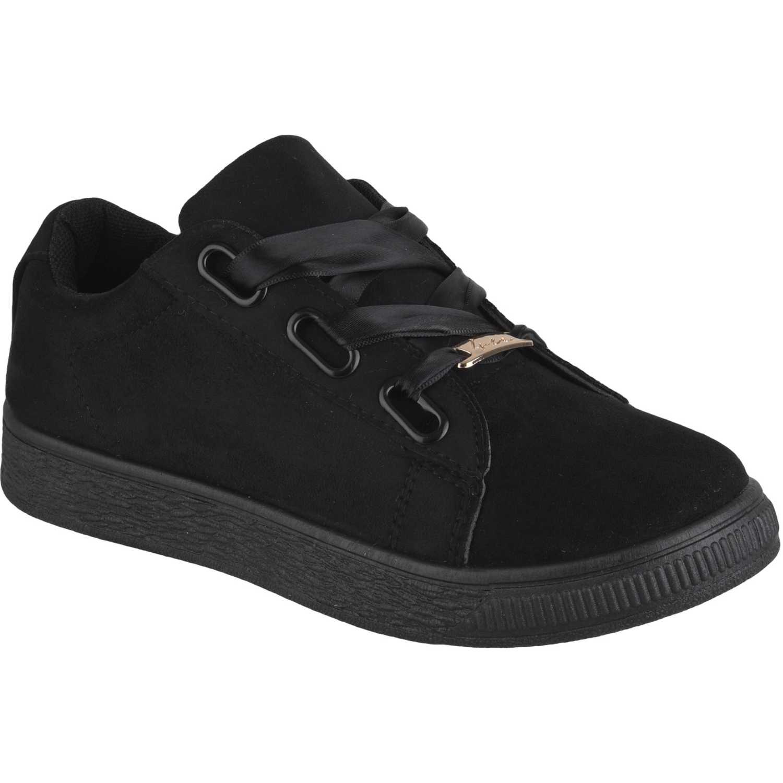 Just4u zc-8a001-g Negro Zapatillas Fashion