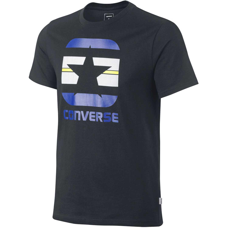 Converse stripe fill boxstar tee Plomo Polos