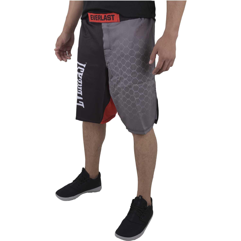 Everlast mma sh Negro /gris Shorts Deportivos