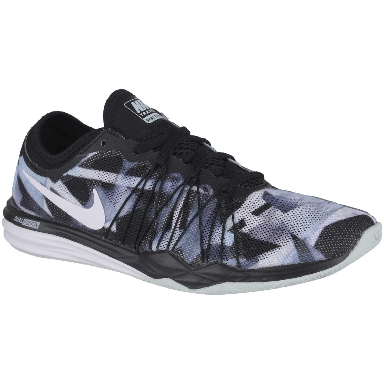 Nike wmns dual fusion tr hit prnt Negro / blanco Mujeres