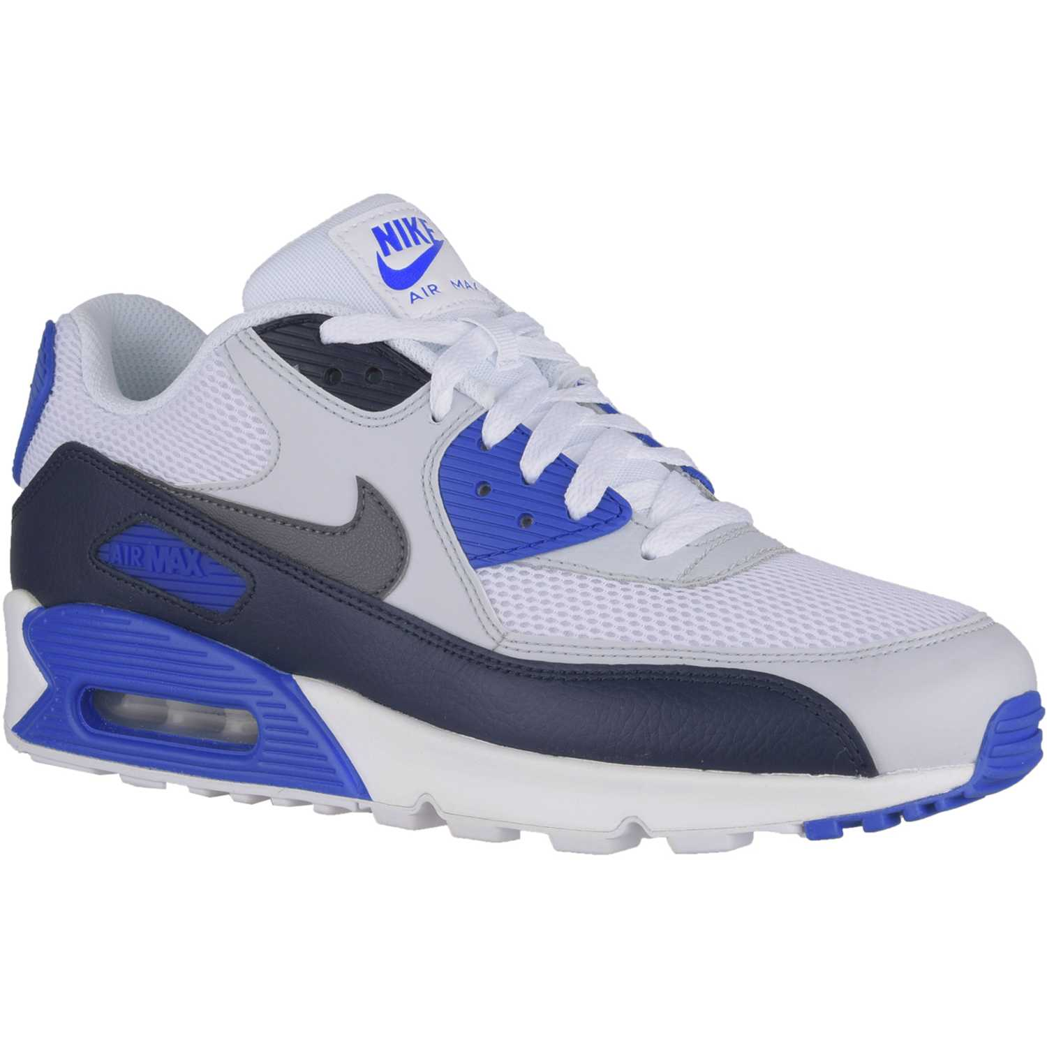 reaccionar amargo Obediencia  Nike air max 90 essential Blanco / azul Walking | platanitos.com