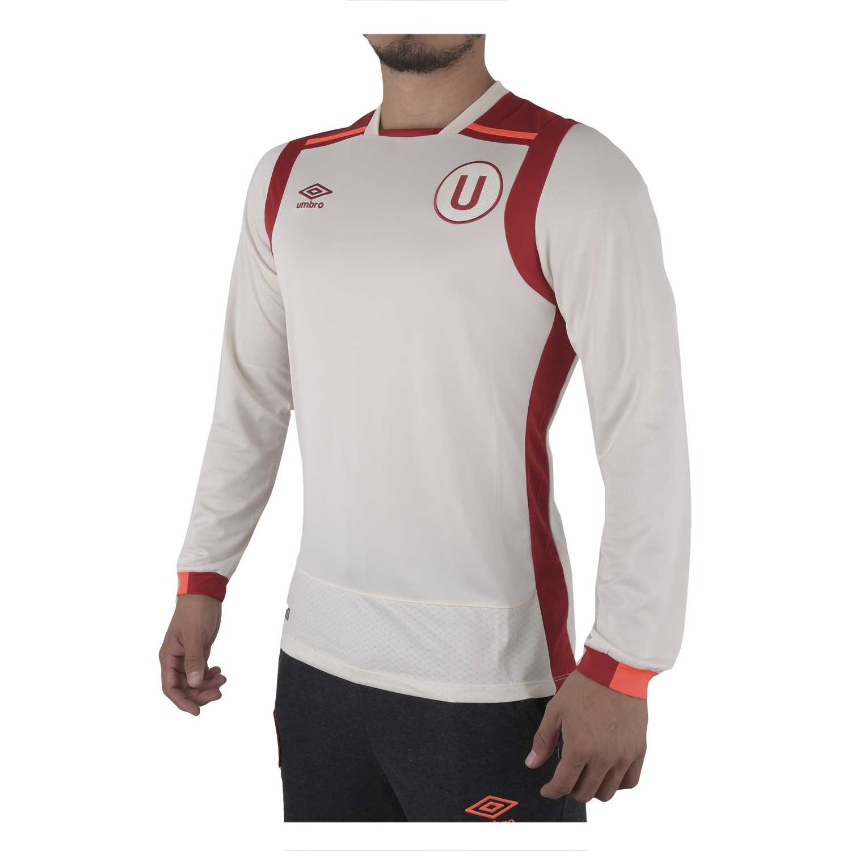 Camiseta de Hombre Umbro Crema univ home l/s jersey (universitario)