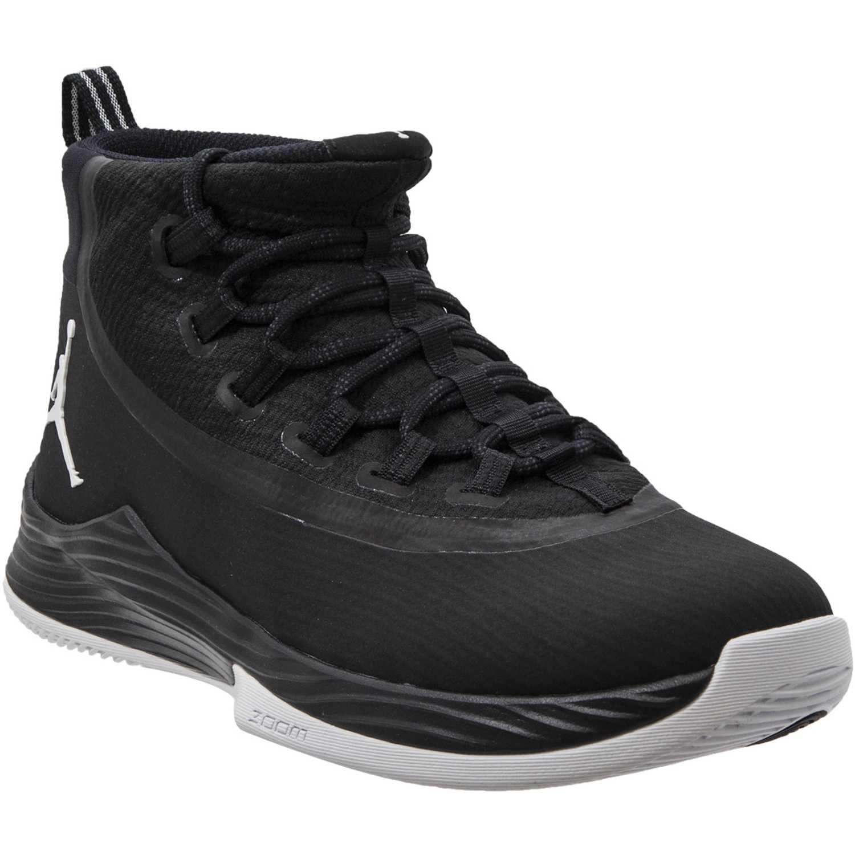 Cuña de Mujer Nike Negro / blanco jordan ultra fly 2