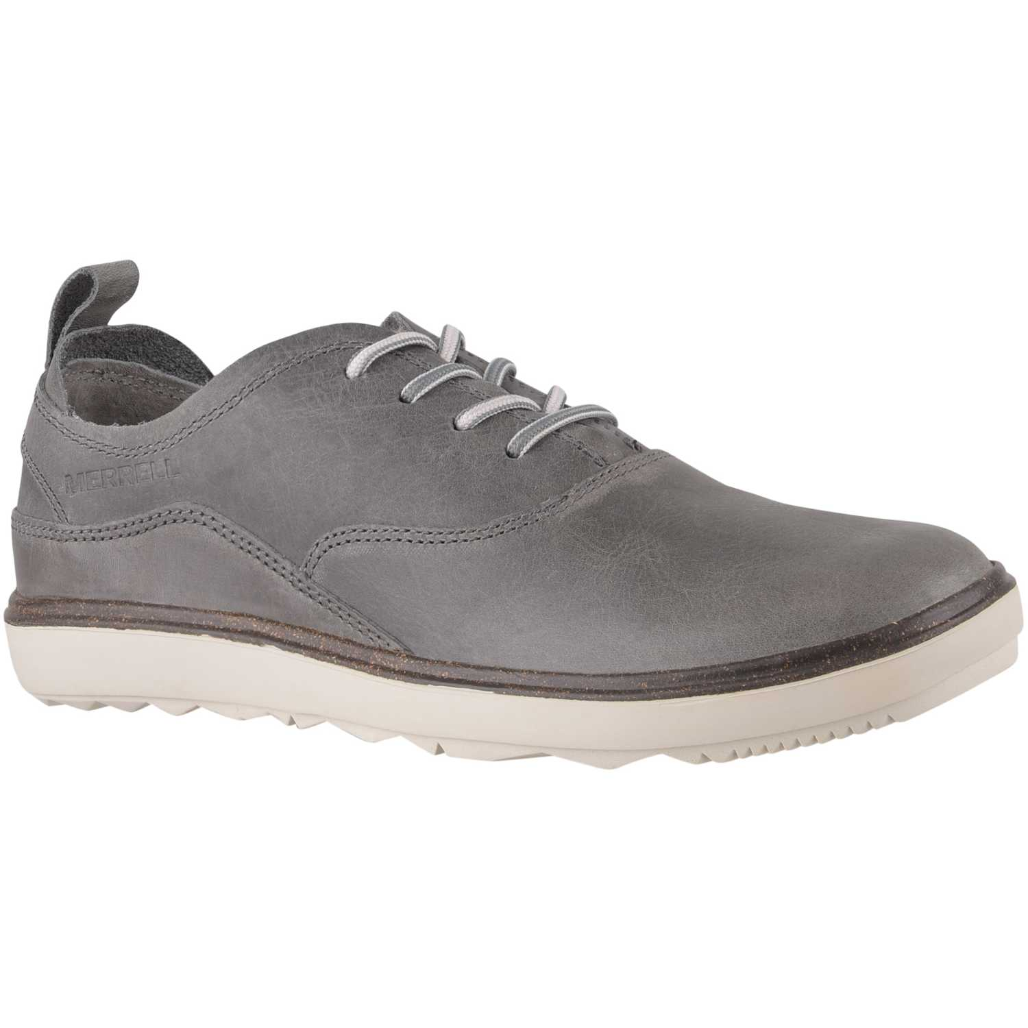 Cuña de Mujer Merrell Gris / blanco around town lace