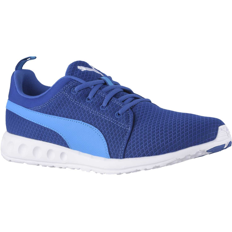 zapatillas azules hombre puma