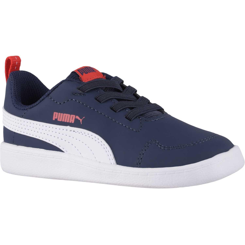 Puma courtflex inf Azul / blanco Walking