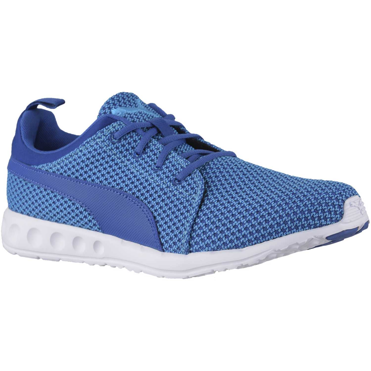 Puma CARSON KNITTED Celeste / azul Walking