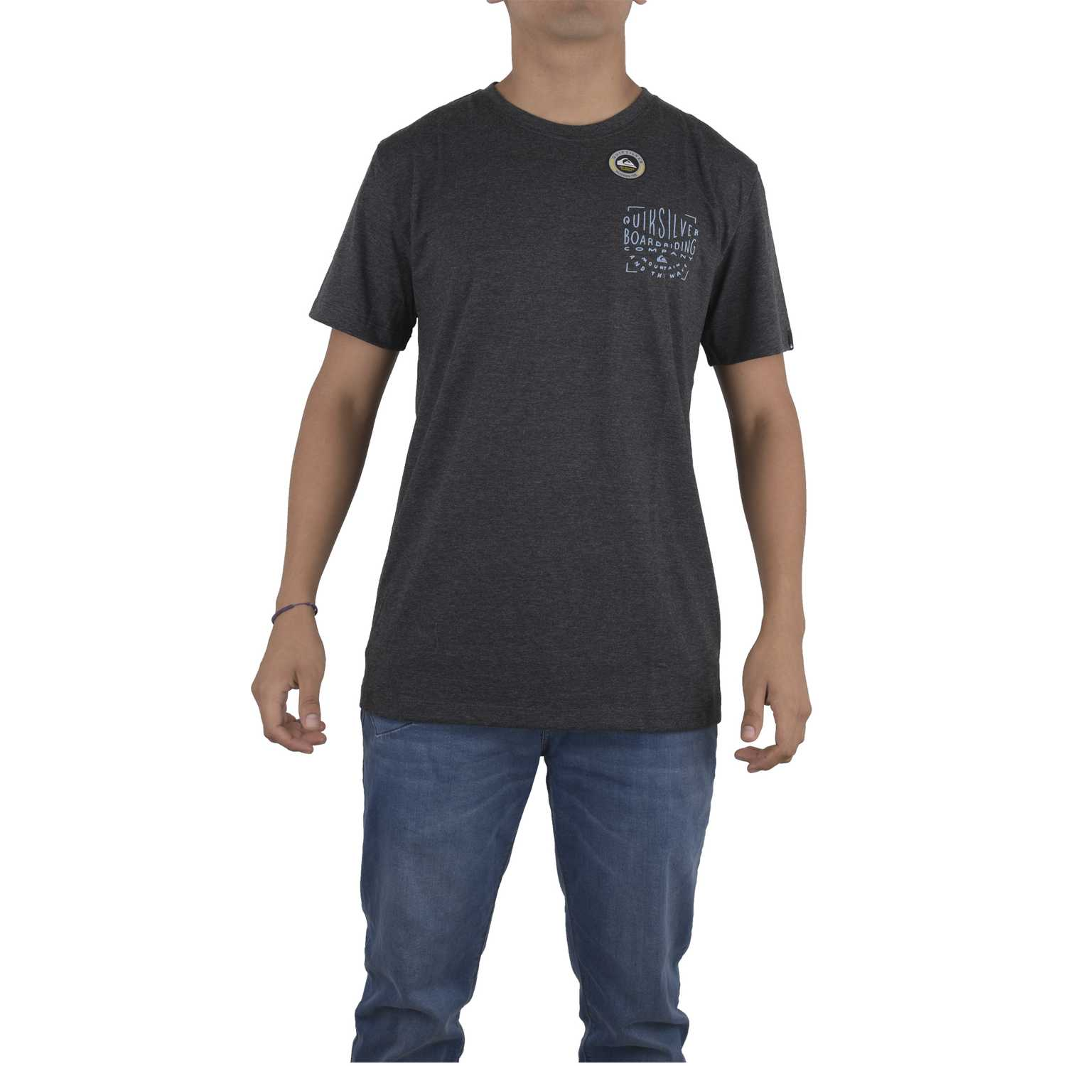 Quiksilver old city mod Gris oscuro Polos