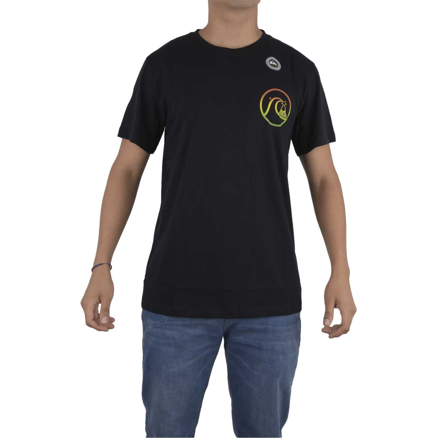 Quiksilver stay high Negro Polos