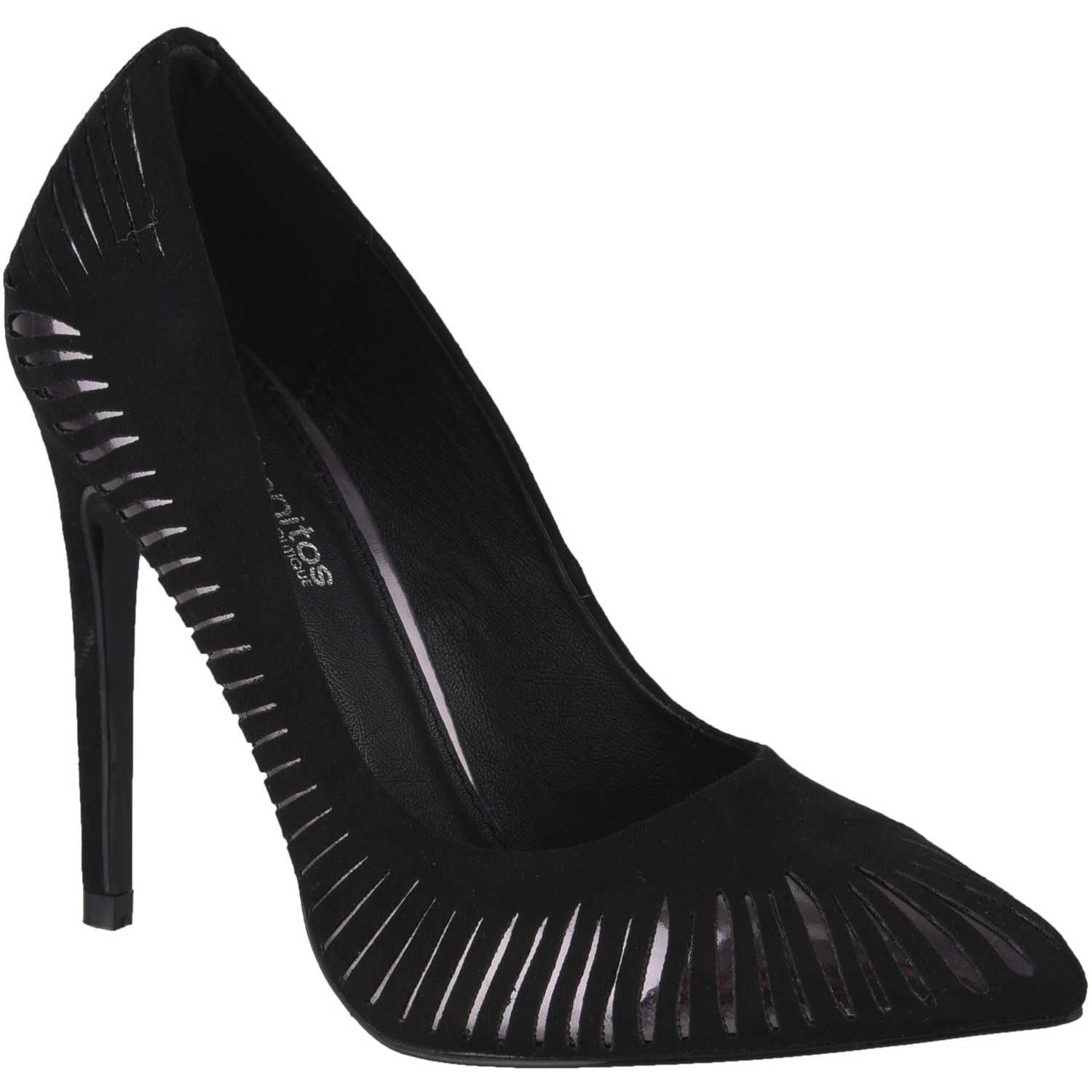 Platanitos C-2578 Negro Estiletos y Pumps