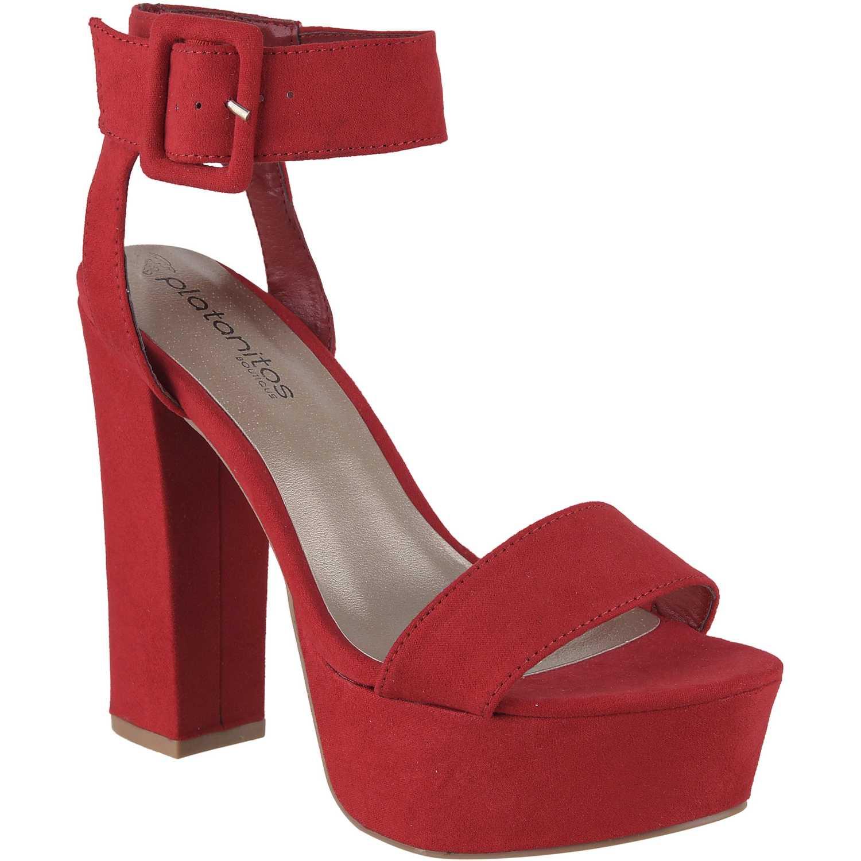 Platanitos De Mujer Rojo Sp Crush01 Botínes wk8OnP0