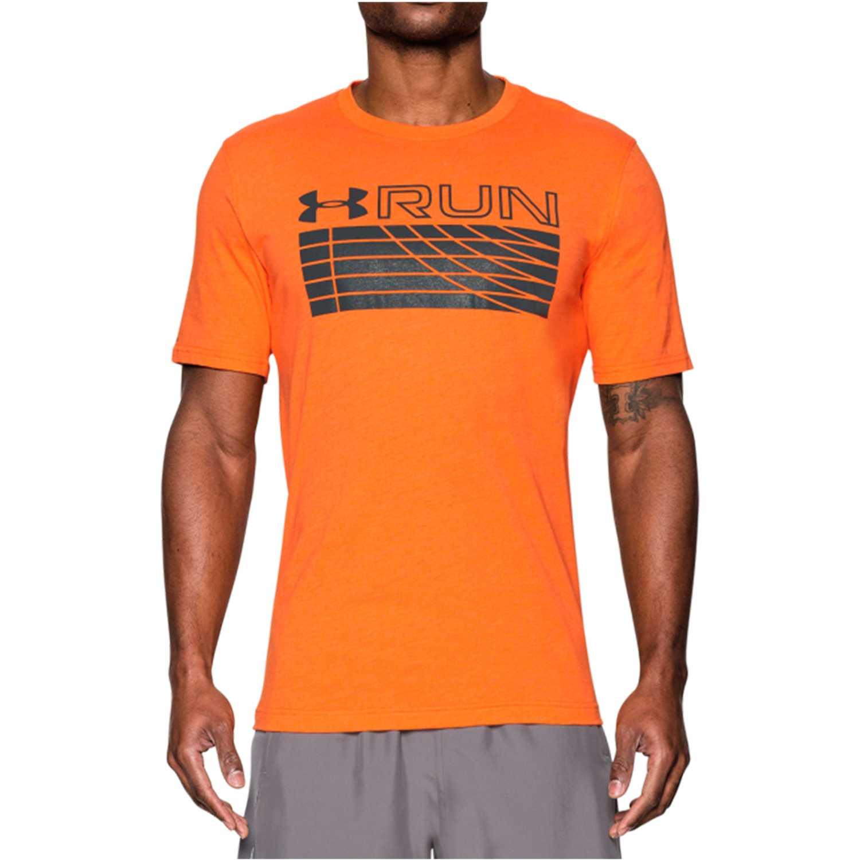 repollo naranja clase  Under Armour Ua Run Track Graphic Tee Naranja / plomo Camisetas y polos  deportivos | platanitos.com