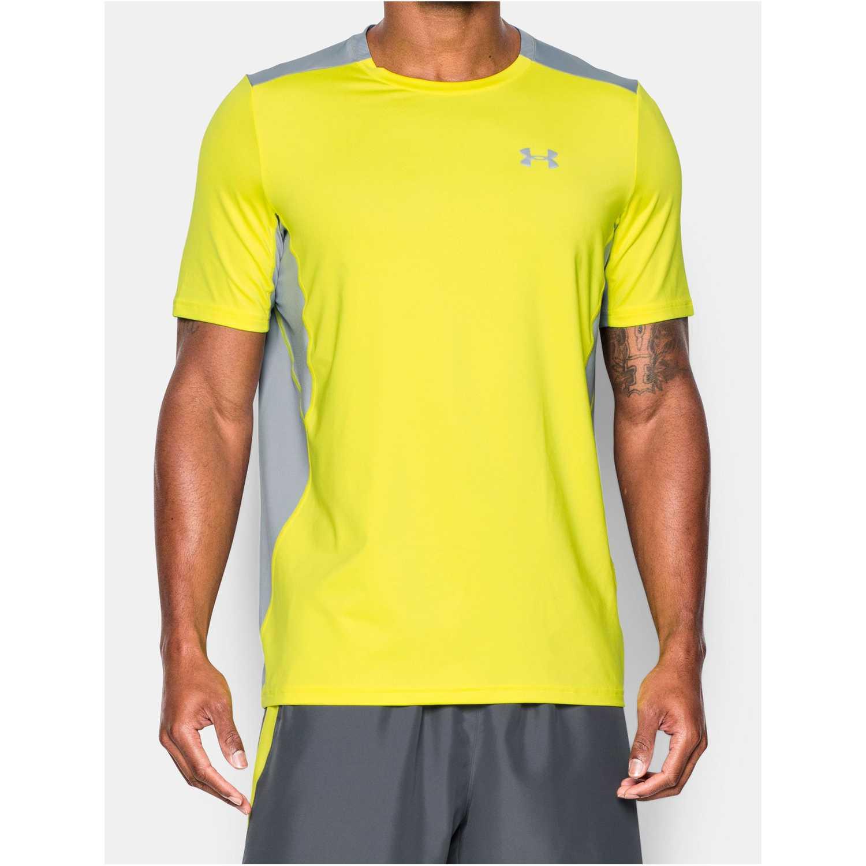 hoja patrón poetas  Under Armour Ua Coolswitch Run S/S Amarillo / gris Camisetas y polos  deportivos | platanitos.com