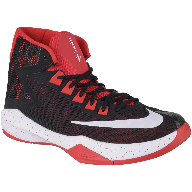Cuña de Mujer Nike Negro / rojo zoom devosion