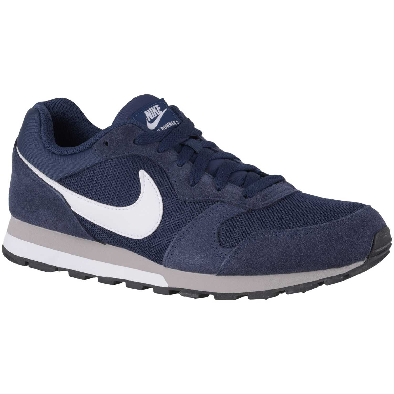 Casual de Hombre Nike Azul / blanco md runner 2