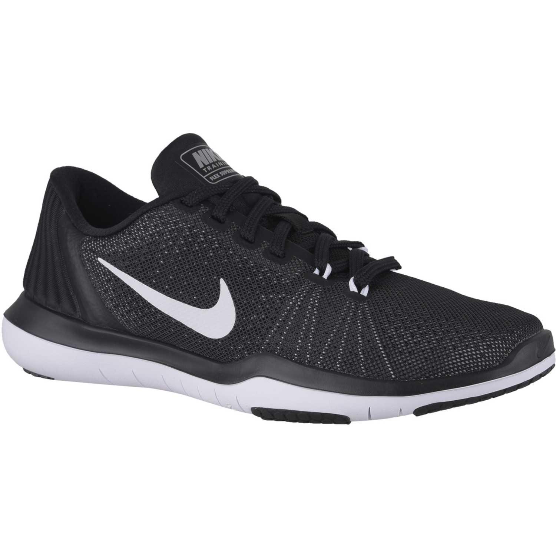 bajo precio ae012 71391 Casual de Mujer Nike Negro / blanco wmns flex supreme tr 5 ...