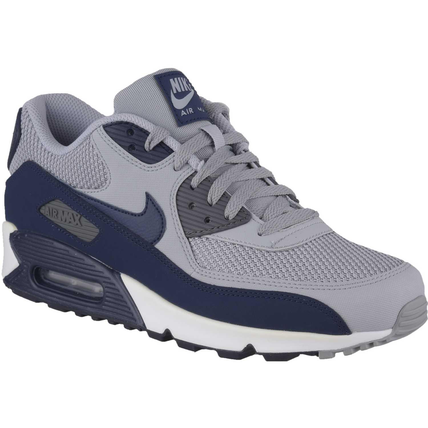Indomable fecha fuegos artificiales  Nike air max 90 essential Gris / azul Walking | platanitos.com