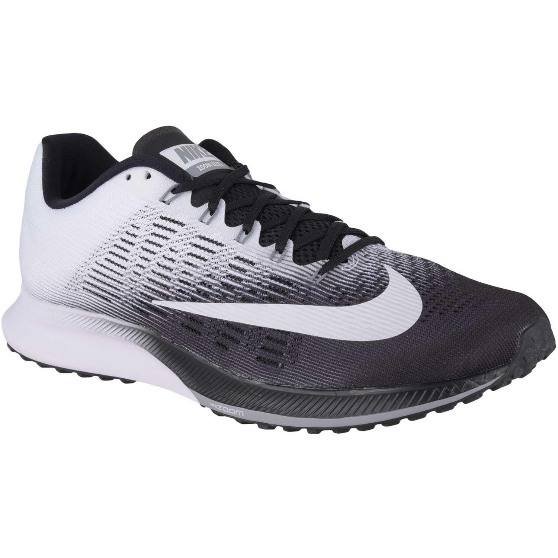 Deportivo de Hombre Nike Blanco negro air zoom elite 9