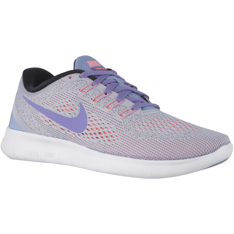 Zapatilla de Mujer Nike Gris Lila wmns free rn 65969