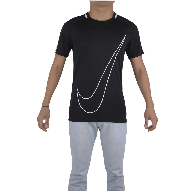 comprar baratas diseño distintivo calidad y cantidad asegurada Camisetas de Hombre Nike Negro / blanco dry acdmy top ss gx ...
