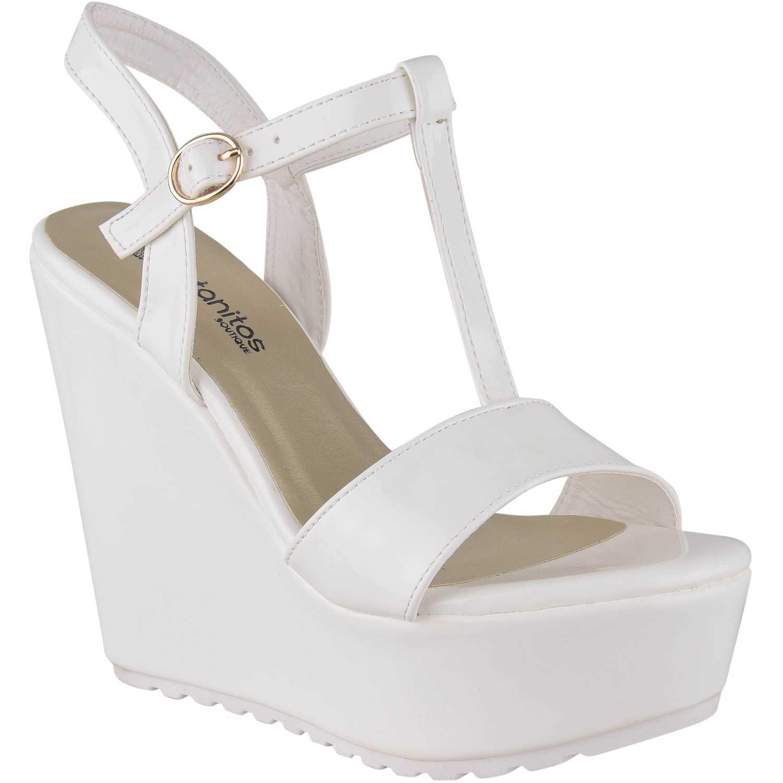 Cuña de Mujer Platanitos Blanco spw-rotate08