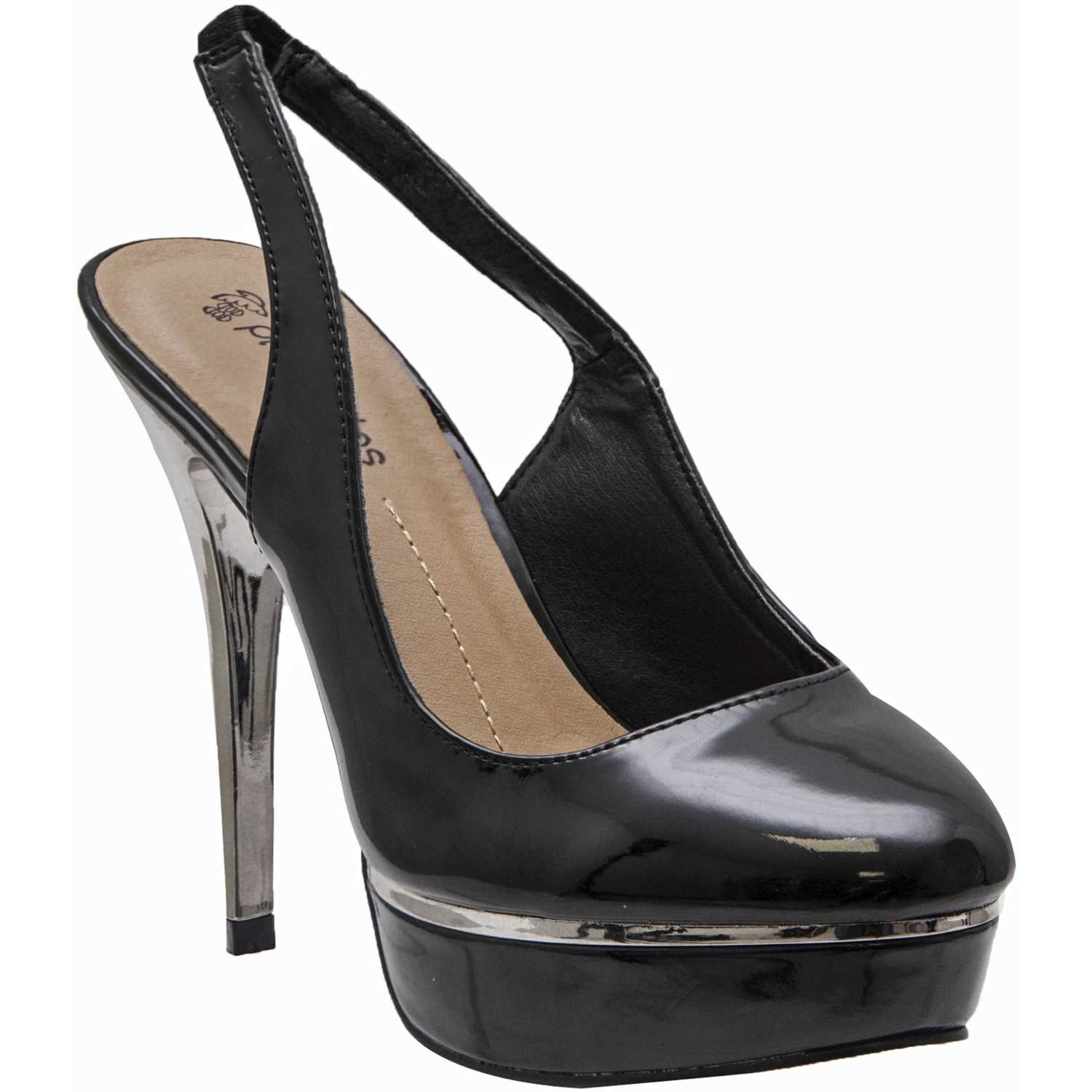 Platanitos cp-98306 Negro Estiletos y Pumps