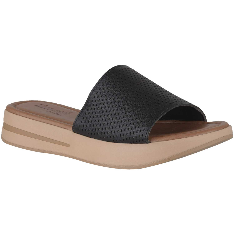 Limoni - Cuero sct-6403 Negro Flats