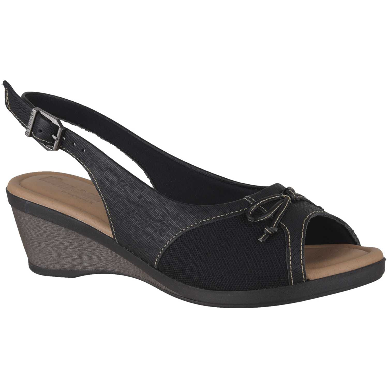 Limoni - Cuero sct-5540 Negro Flats